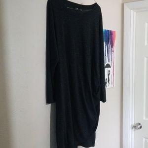 Apt 9 Black comfy knee length dress